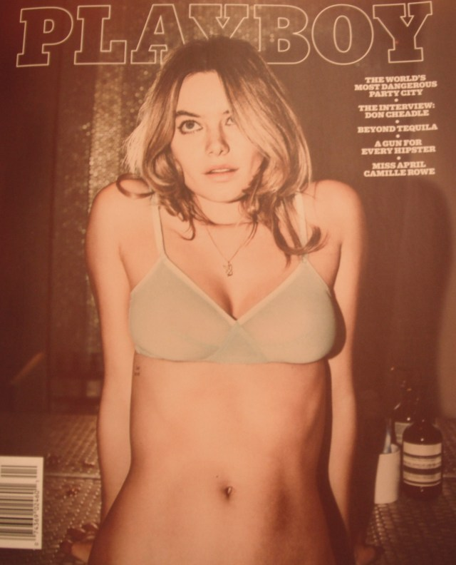 "Playboy is now an over glorified ""Esquire"" and ""Maxim"" magazine bordering on looking like ""Highlights Magazine."""