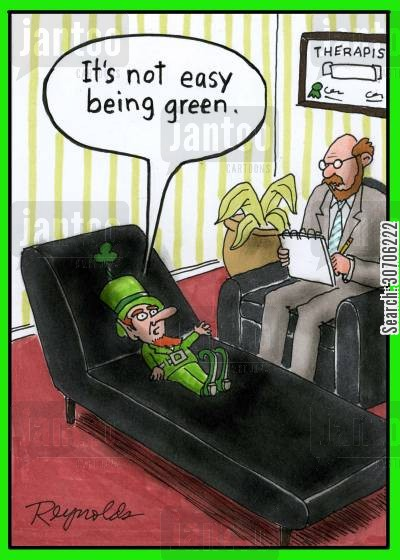 'It's not easy being green.'