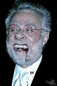 Wolf Blitzer on a full moon evening