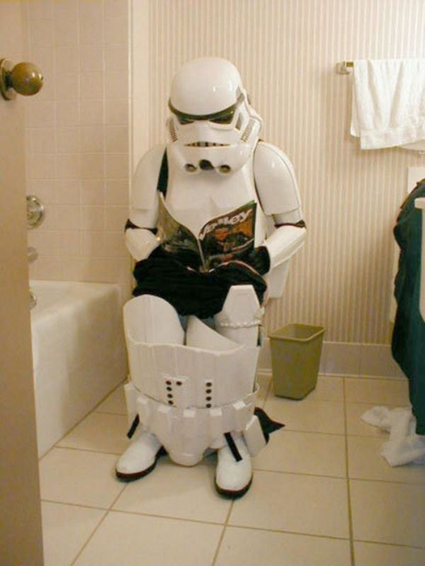 I DID wonder how Star Wars guys went to the bathroom .... now I know